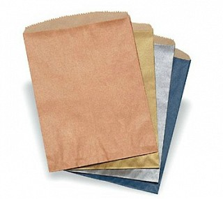 Merchandise Paper Bags with Metallic Tone