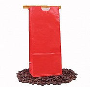 Tin Tie Paper Bags - Red